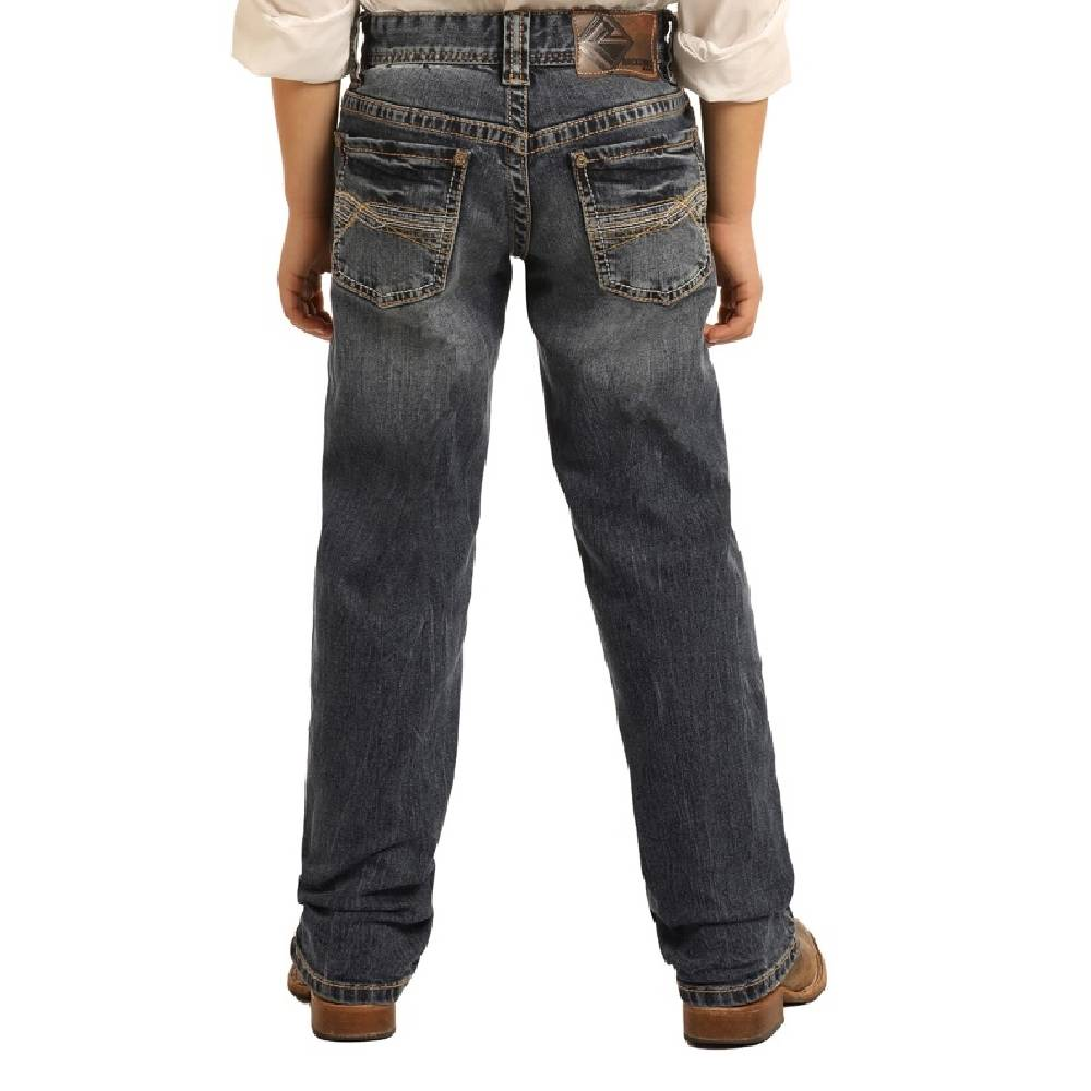 Rock & Roll Boys Revolver Dark Vintage Jeans KIDS - Boys - Clothing - Jeans Panhandle Teskeys