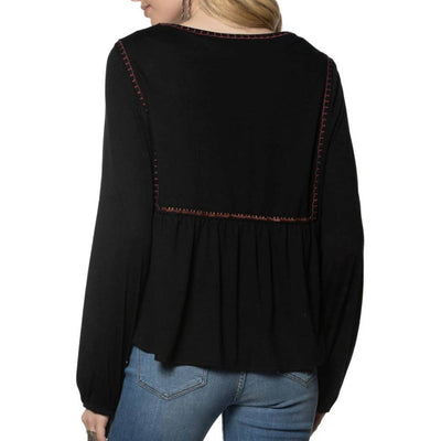 Double D Ranch Hui People Top WOMEN - Clothing - Tops - Long Sleeved DOUBLE D RANCHWEAR, INC. Teskeys