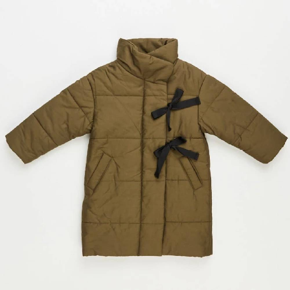 Girls Down Olive Jacket