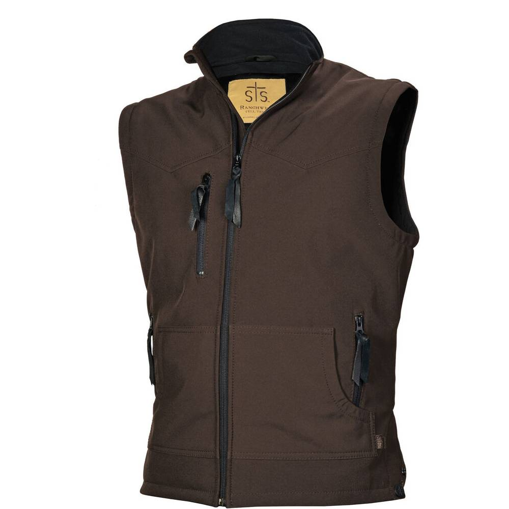 Youth Barrier Vest Brown KIDS - Boys - Clothing - Outerwear - Vests CARROLL COMPANIES, INC/STS Teskeys
