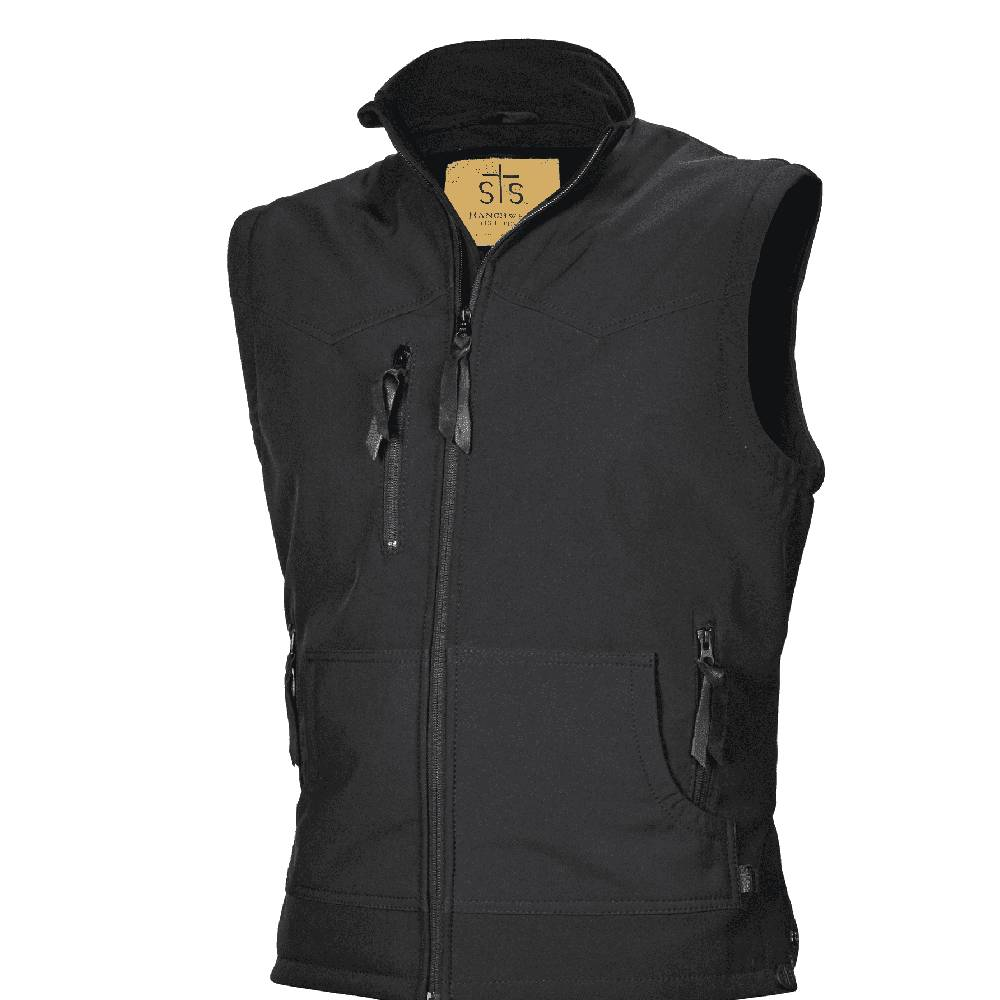 STS Ranchwear Youth Barrier Vest - Black KIDS - Boys - Clothing - Outerwear - Vests STS Ranchwear Teskeys