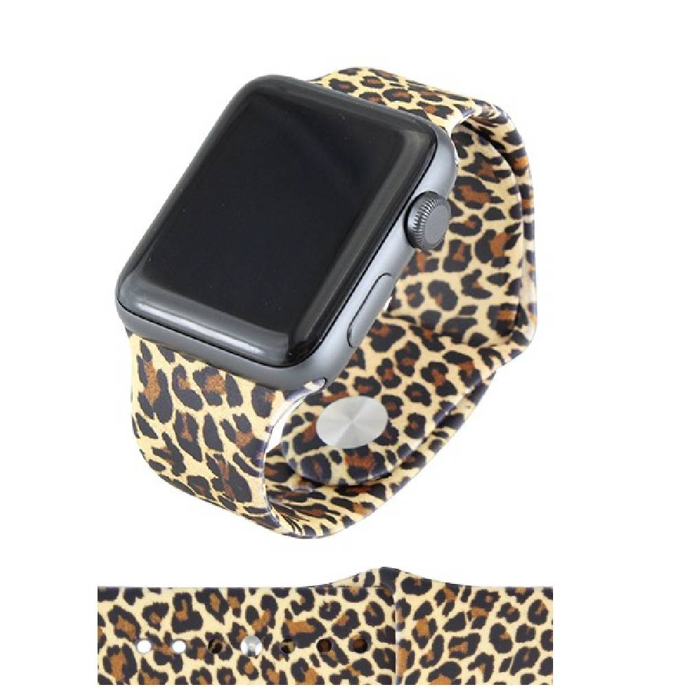 Leopard Watch Band WOMEN - Accessories - Jewelry - Watches & Watch Bands YOUR FASHION WHOLESALE Teskeys