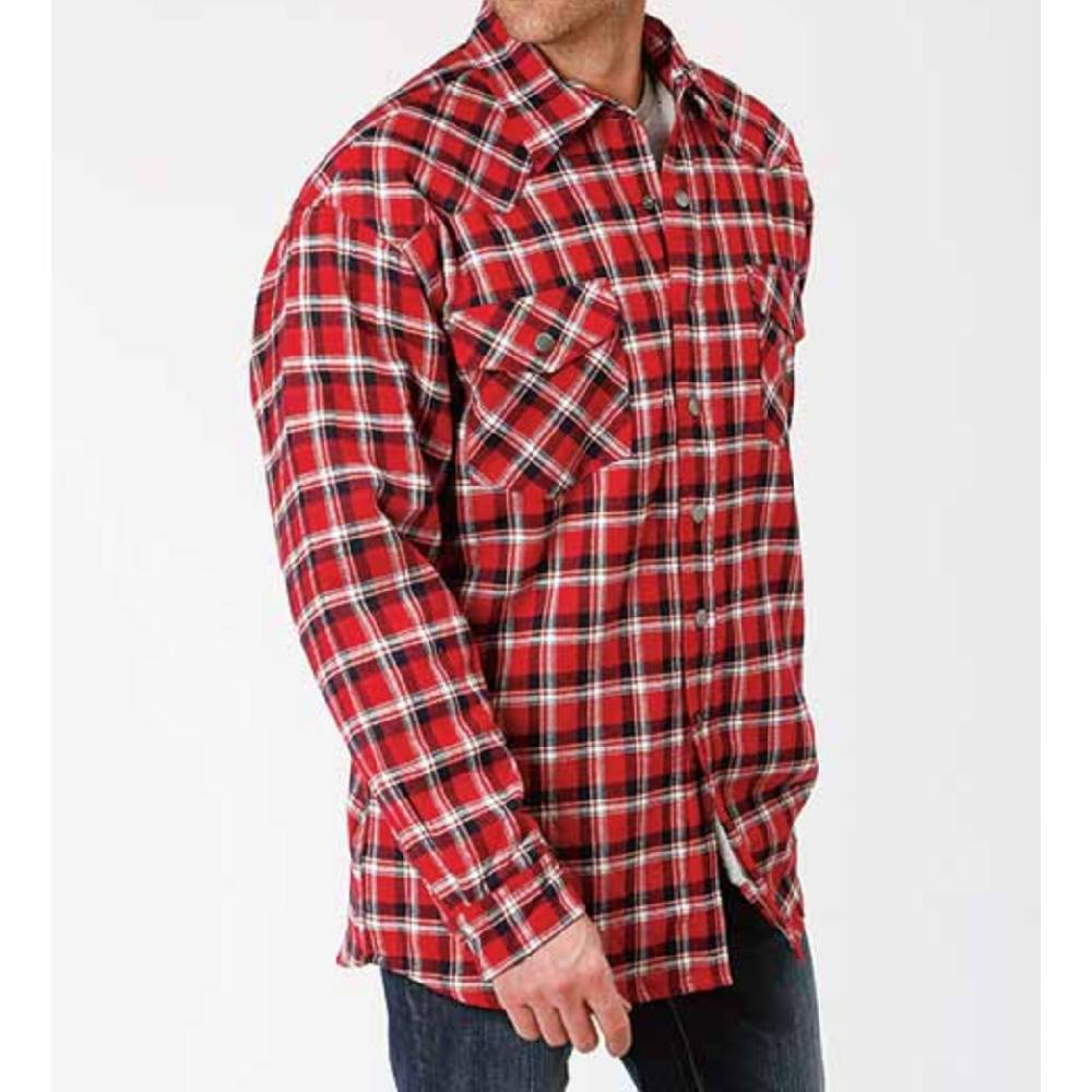 Roper Flannel Shirt Jacket MEN - Clothing - Outerwear - Jackets ROPER APPAREL & FOOTWEAR Teskeys