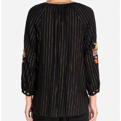 Johnny Was Clancy Blouse WOMEN - Clothing - Tops - Long Sleeved JOHNNY WAS COLLECTION Teskeys