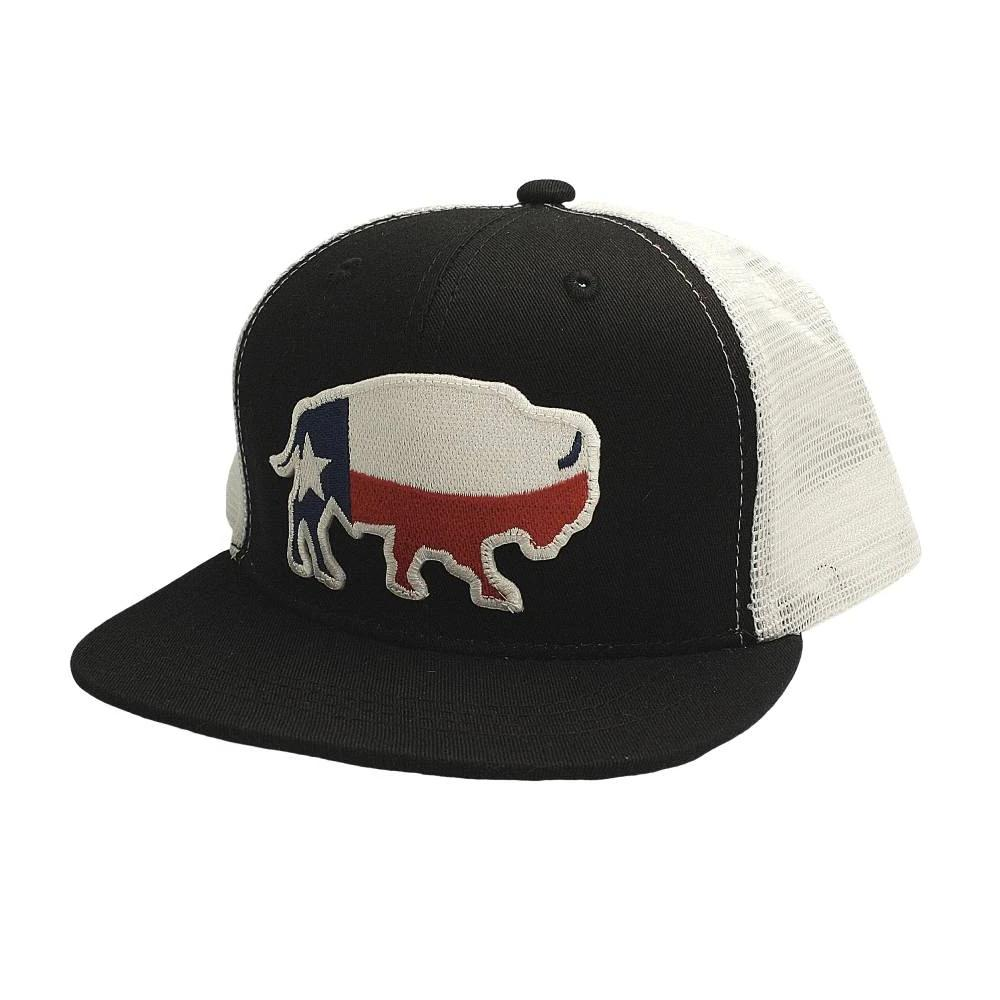 Red Dirt Hat Co. Youth Texas Buffalo Cap KIDS - Accessories - Hats & Caps RED DIRT HAT CO. Teskeys
