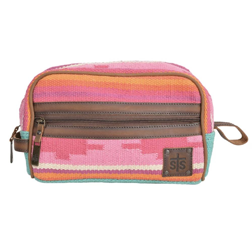 STS Ranchwear Cactus Serape Shave Kit WOMEN - Accessories - Handbags - Clutches & Pouches STS Ranchwear Teskeys