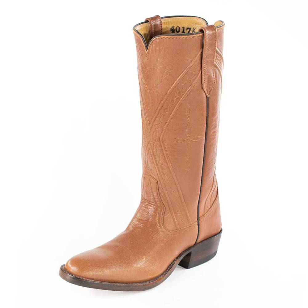 Classic Cappuccino Water-buffalo Ladies Boot WOMEN - Footwear - Boots - Western Boots RIOS OF MERCEDES BOOT CO. Teskeys