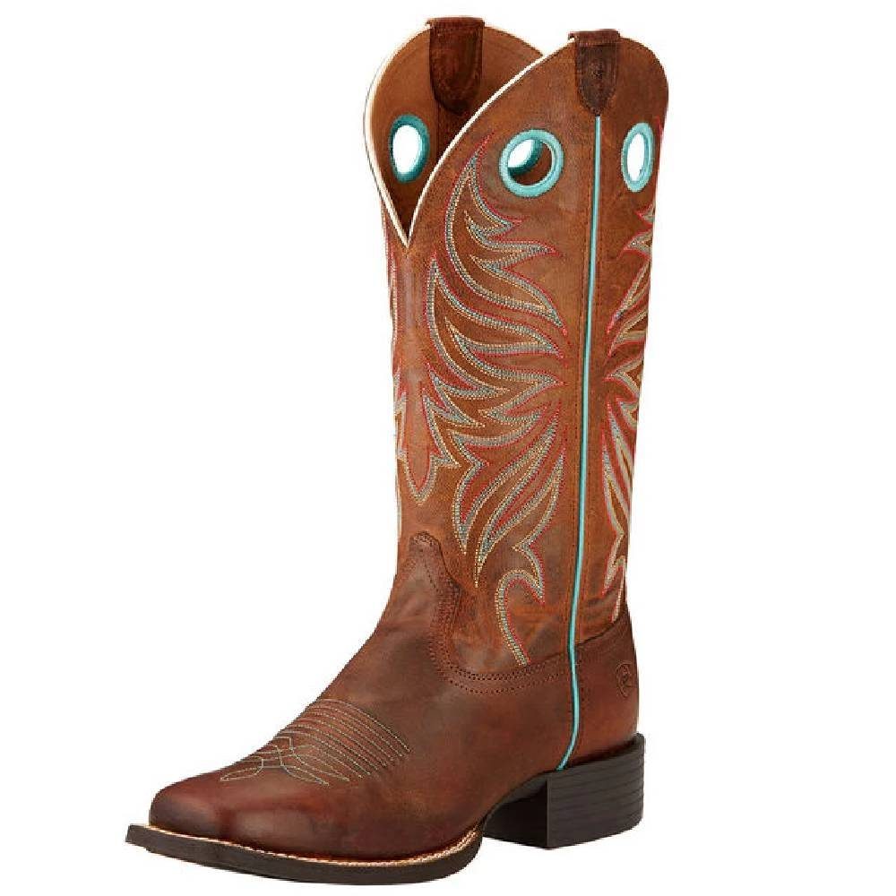 Ariat Round Up Ryder Boot WOMEN - Footwear - Boots - Western Boots Ariat Footwear Teskeys