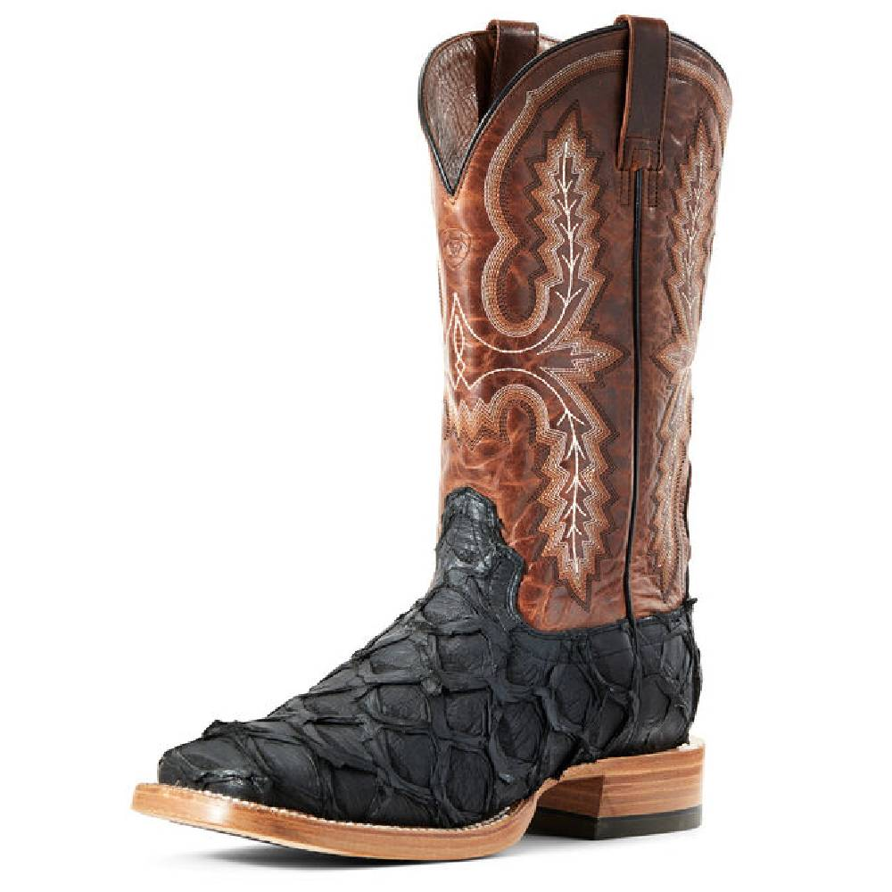 Ariat Big Bass Matte Boot MEN - Footwear - Exotic Western Boots Ariat Footwear Teskeys