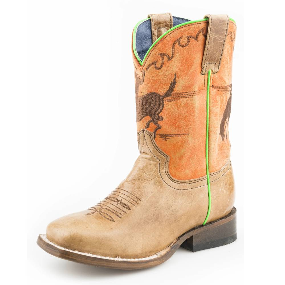 Roper Kids Horsey Boot KIDS - Boys - Footwear - Boots ROPER APPAREL & FOOTWEAR Teskeys