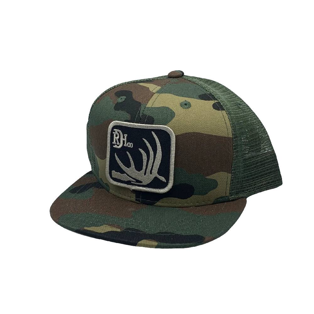 Red Dirt Hat Co. Youth Camo Deer Shed Cap KIDS - Accessories - Hats & Caps RED DIRT HAT CO. Teskeys
