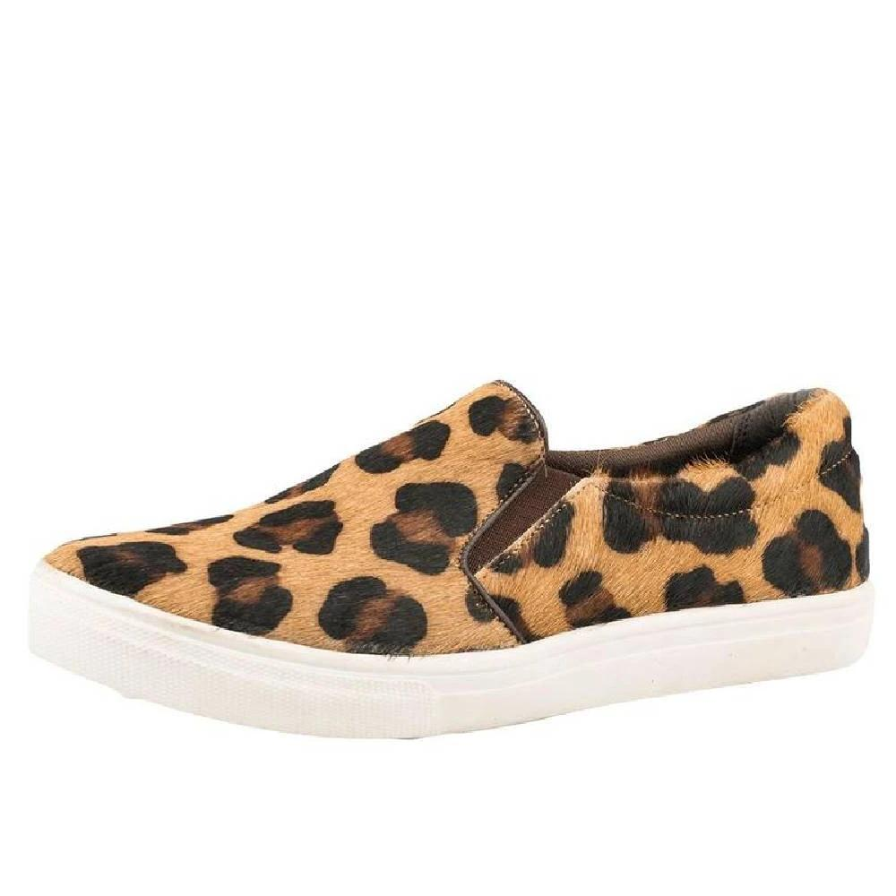 Roper Leopard Hair on Hide Slip On Shoe WOMEN - Footwear - Casuals ROPER APPAREL & FOOTWEAR Teskeys