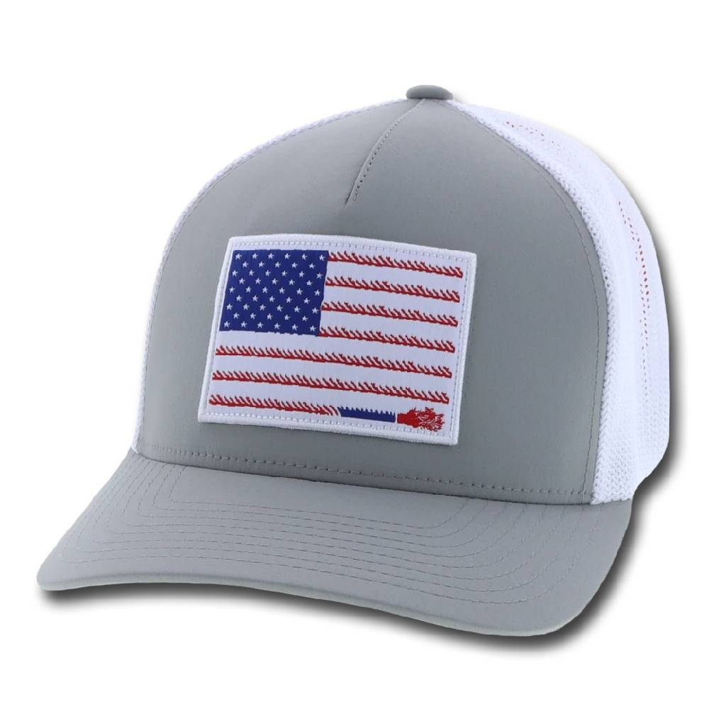Hooey Liberty Roper Flexfit Cap HATS - BASEBALL CAPS HOOEY Teskeys