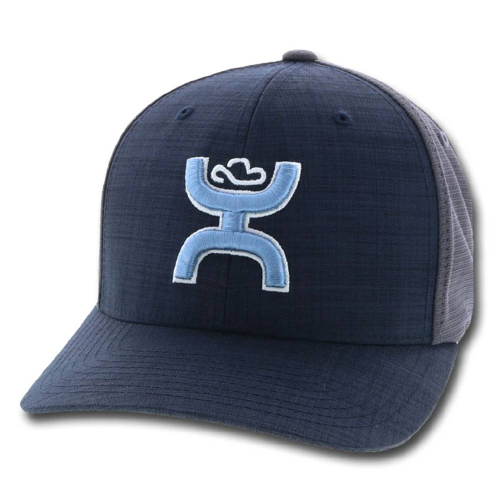 Hooey Web Logo Flexfit Cap HATS - BASEBALL CAPS HOOEY Teskeys