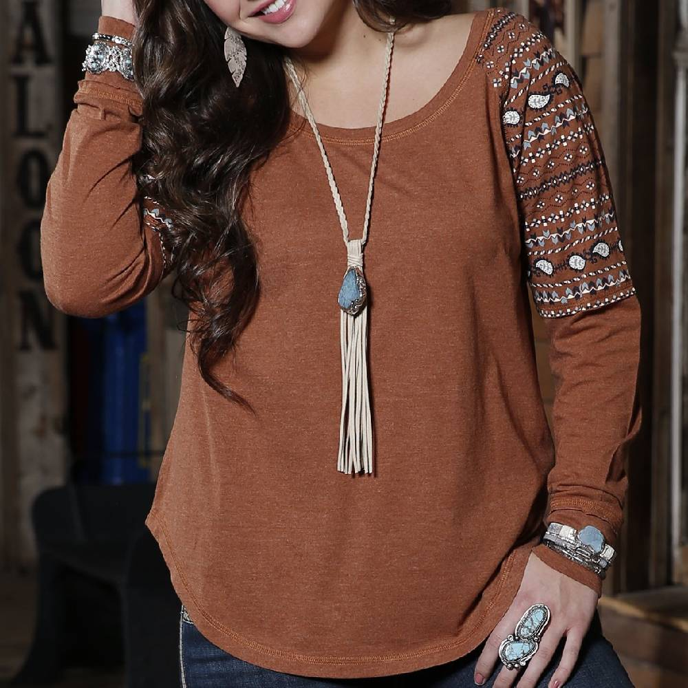 Cinch Raglan Tee WOMEN - Clothing - Tops - Long Sleeved CINCH Teskeys