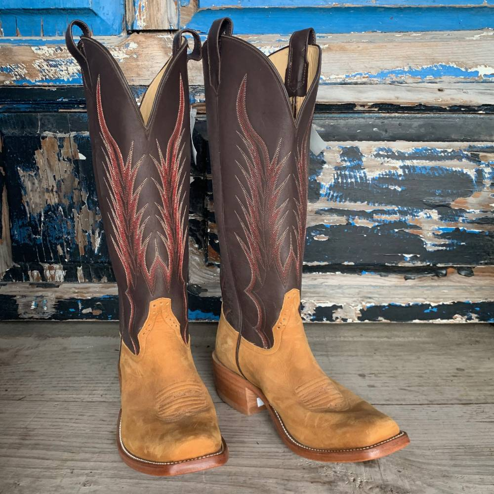 Mismatched Size Boots Rios Horsehide 9D/9.5D MEN - Footwear - Western Boots RIOS OF MERCEDES BOOT CO. Teskeys