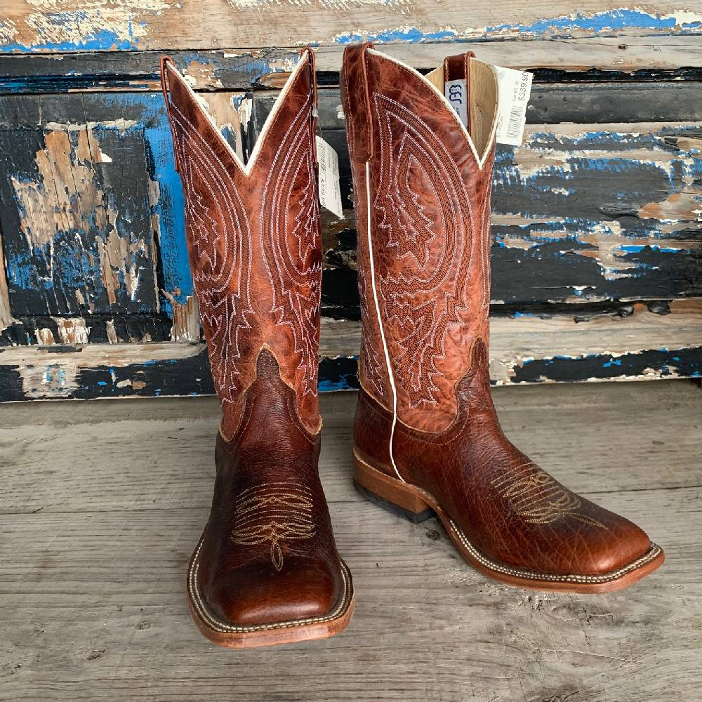 Mismatched Size Boots Anderson Bean Bison (8.5/9.5) MEN - Footwear - Western Boots ANDERSON BEAN BOOT CO. Teskeys