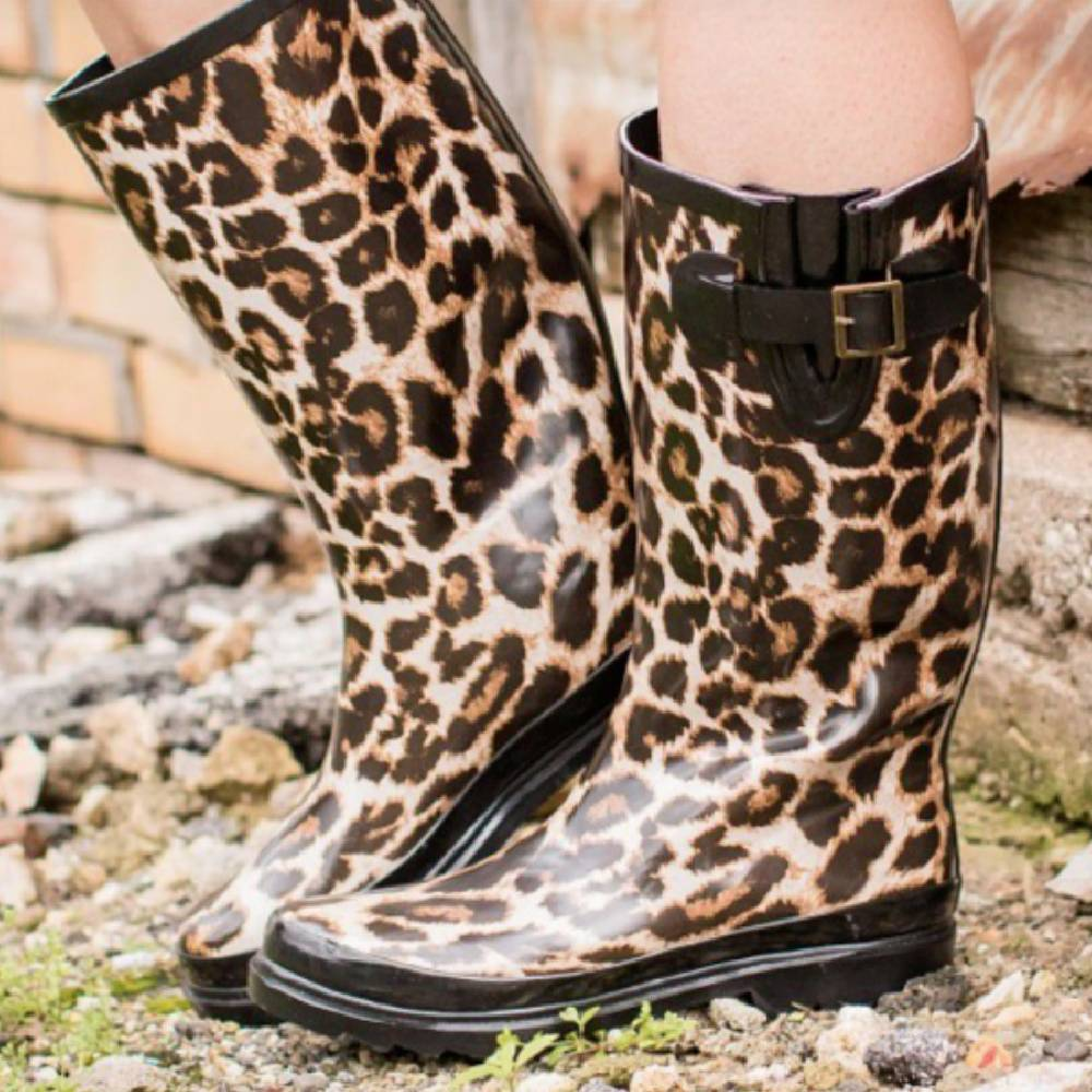 L & B Rain Boots-Multiple Prints