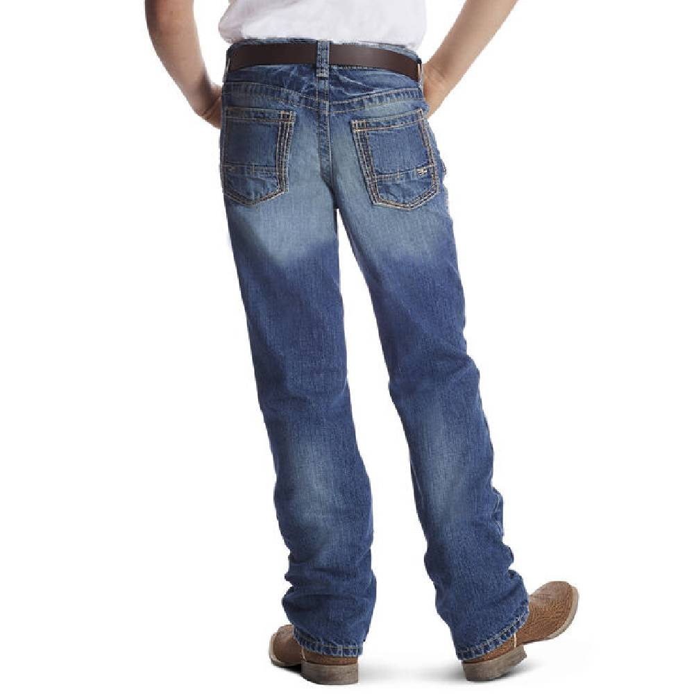 Ariat Boys B4 Relaxed Boundary Boot Cut Jean KIDS - Boys - Clothing - Jeans Ariat Clothing Teskeys