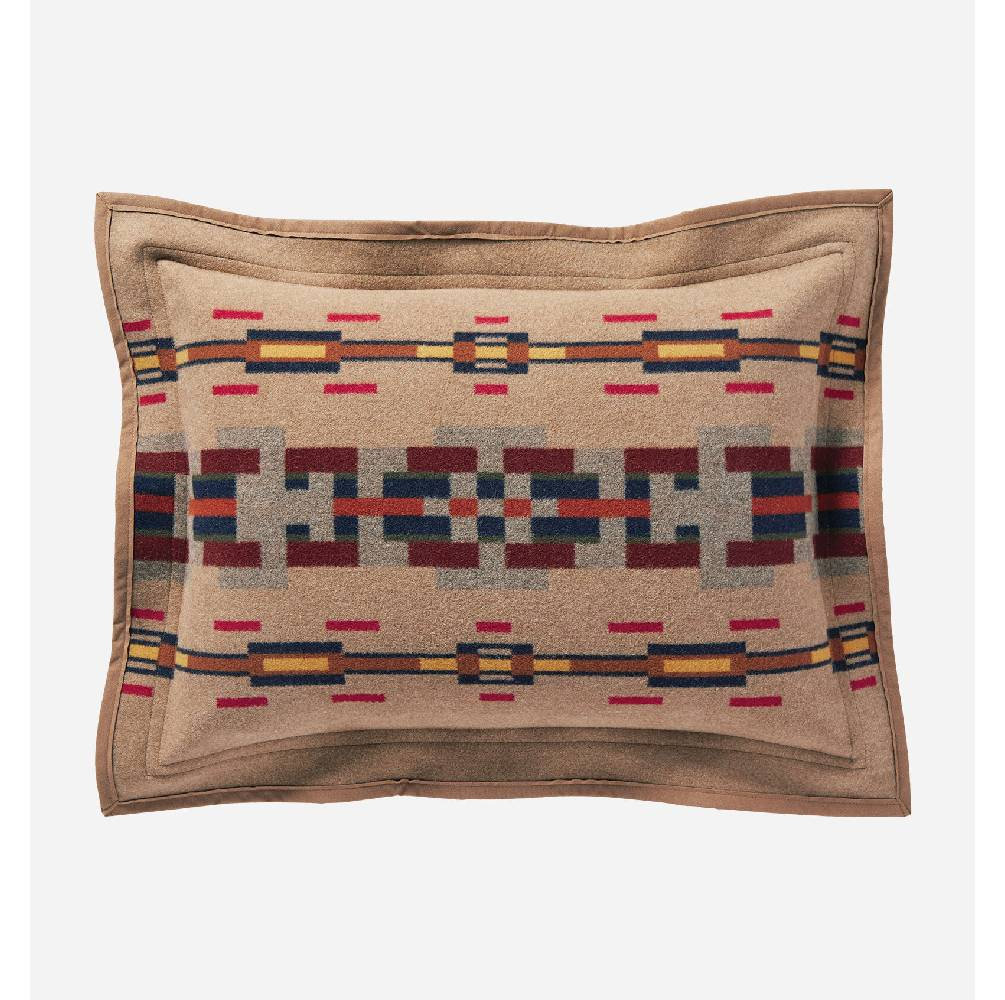 Pendleton Painted Hills Taupe Suede Standard Sham HOME & GIFTS - Home Decor - Decorative Pillows PENDLETON Teskeys
