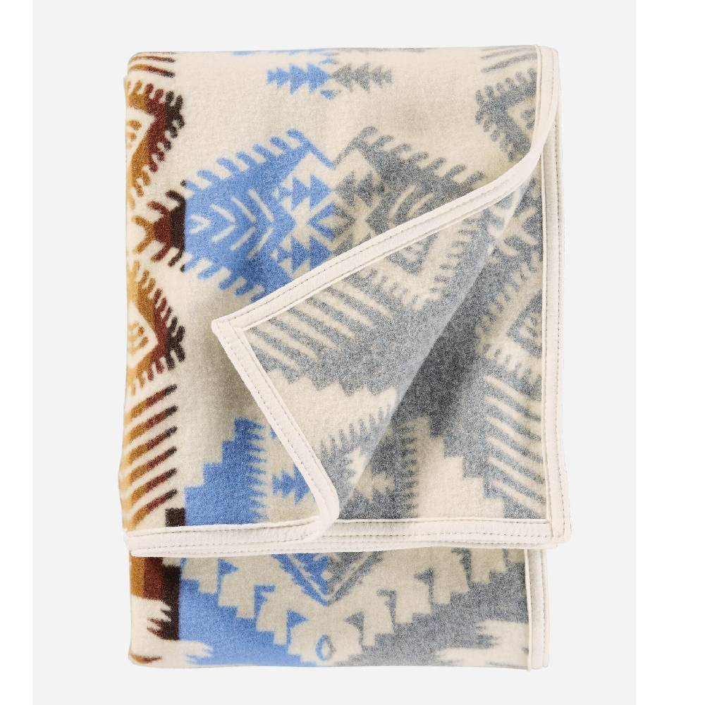 Pendleton Silver Bark Feltbound Throw HOME & GIFTS - Home Decor - Blankets + Throws PENDLETON Teskeys