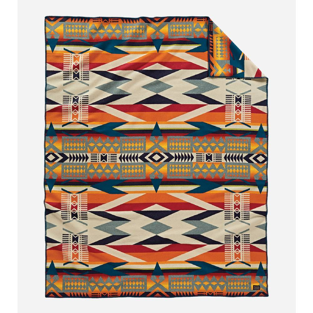 Pendleton Fire Legend Sunset Blanket HOME & GIFTS - Home Decor - Blankets + Throws PENDLETON Teskeys