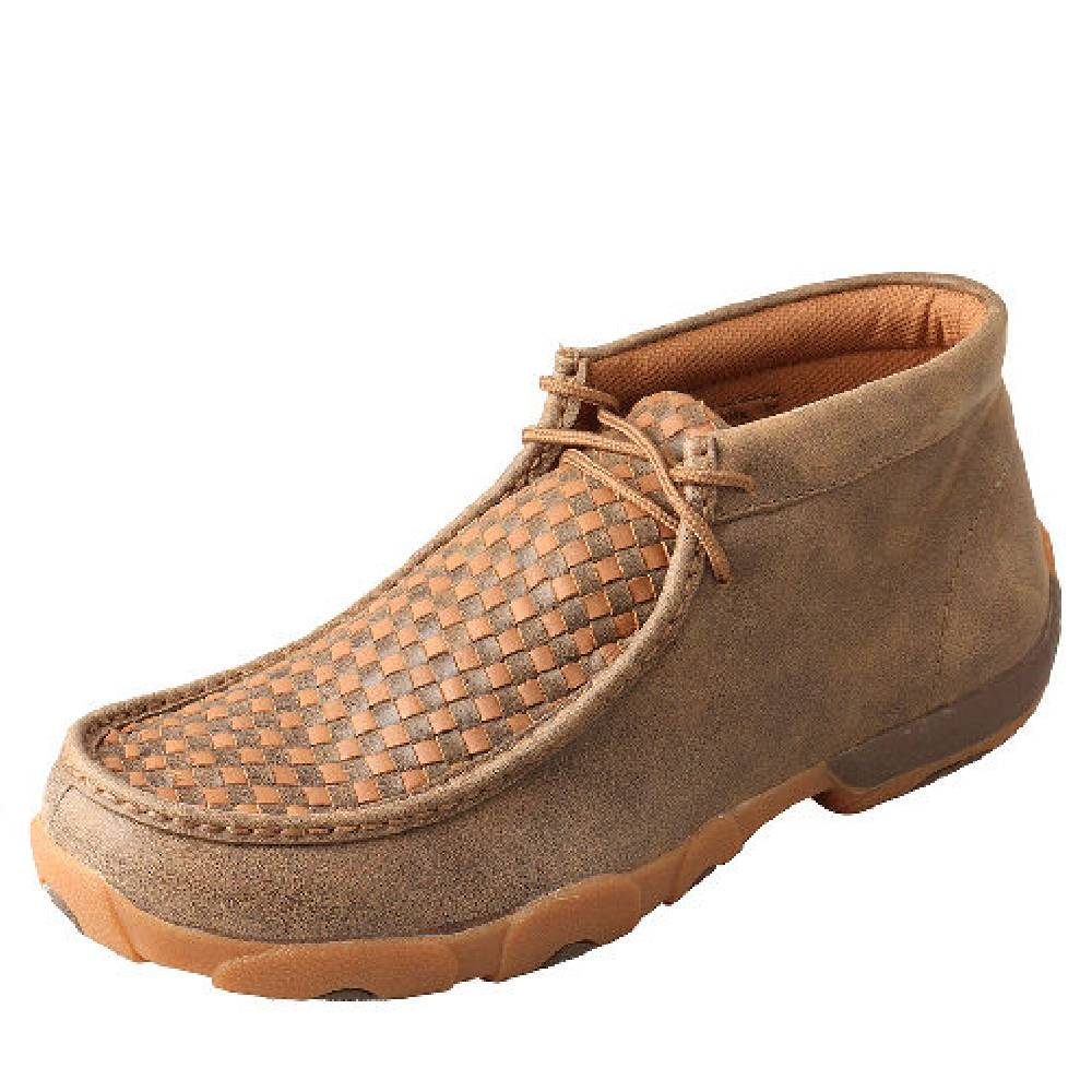 Twisted X Men's Basketweave Driving Moc
