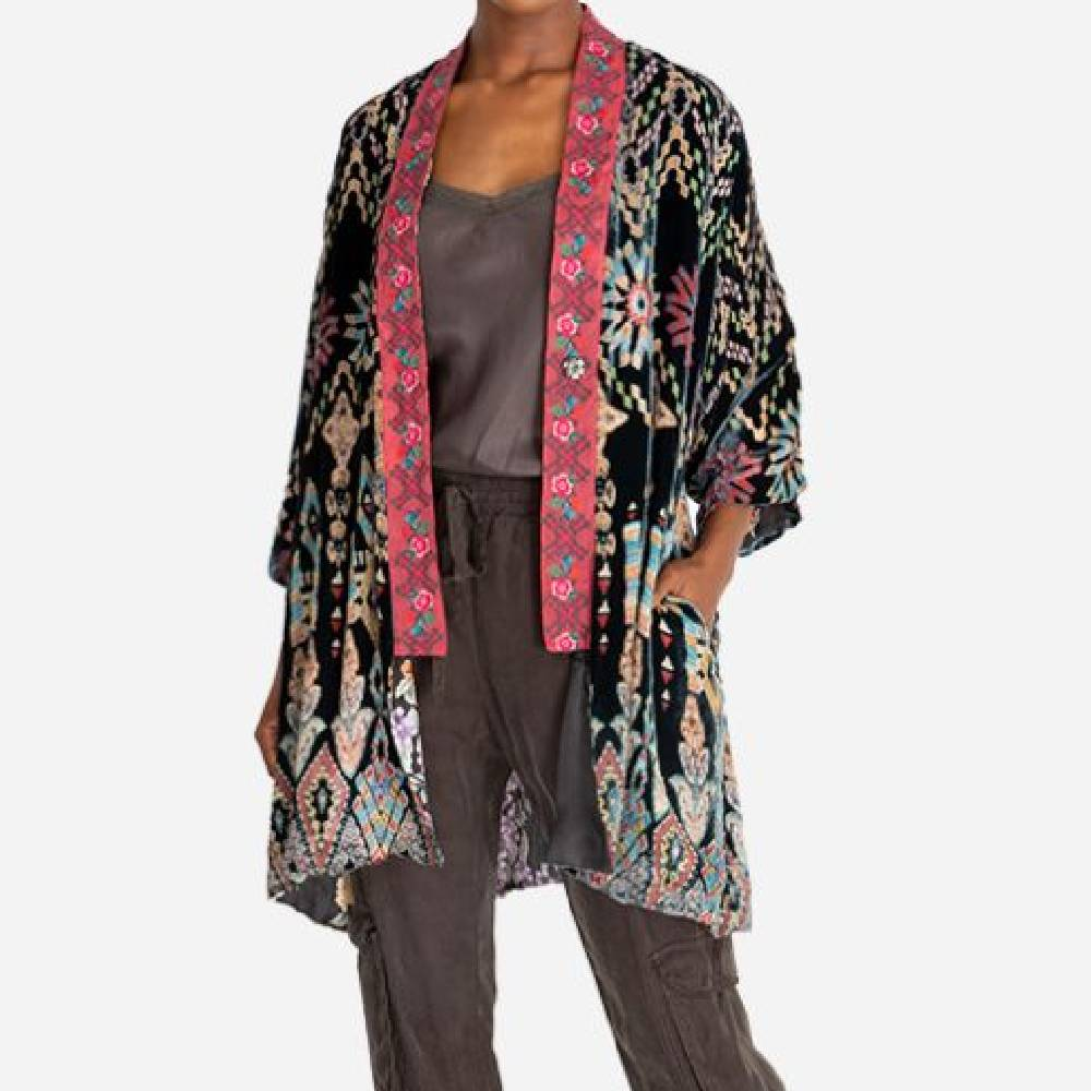 Johnny Was Payden Reversible Kimono WOMEN - Clothing - Sweaters & Cardigans JOHNNY WAS COLLECTION Teskeys