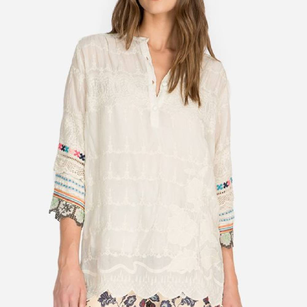 Johnny Was Mayu Tunic WOMEN - Clothing - Tops - Tunics JOHNNY WAS COLLECTION Teskeys