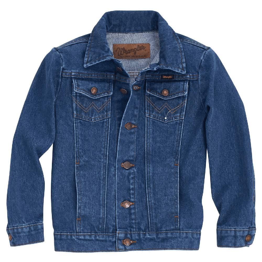 Wrangler Youth Unlined Denim Jacket KIDS - Boys - Clothing - Outerwear - Jackets WRANGLER Teskeys