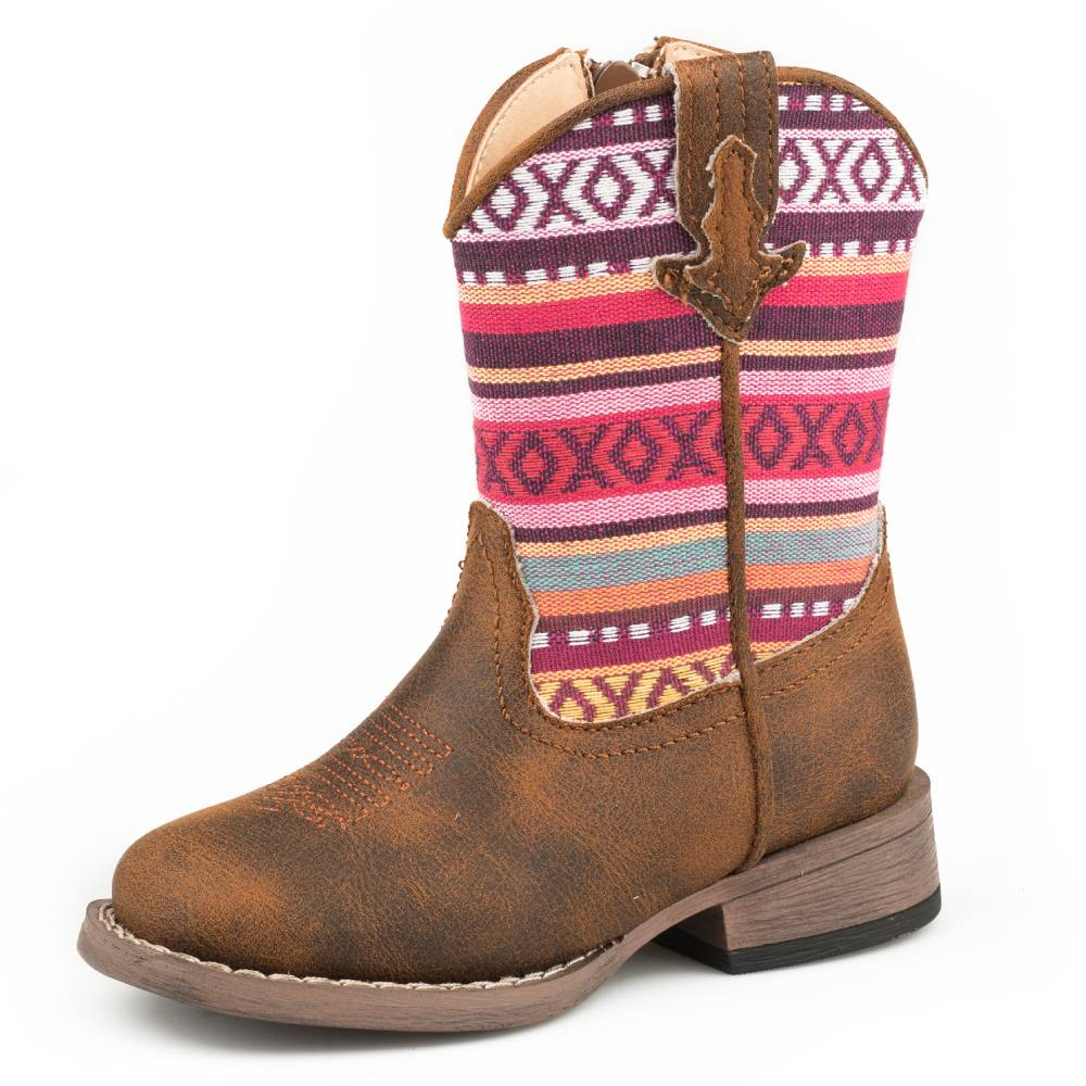 Roper Kids Hugs & Kisses Boot KIDS - Girls - Footwear - Boots ROPER APPAREL & FOOTWEAR Teskeys
