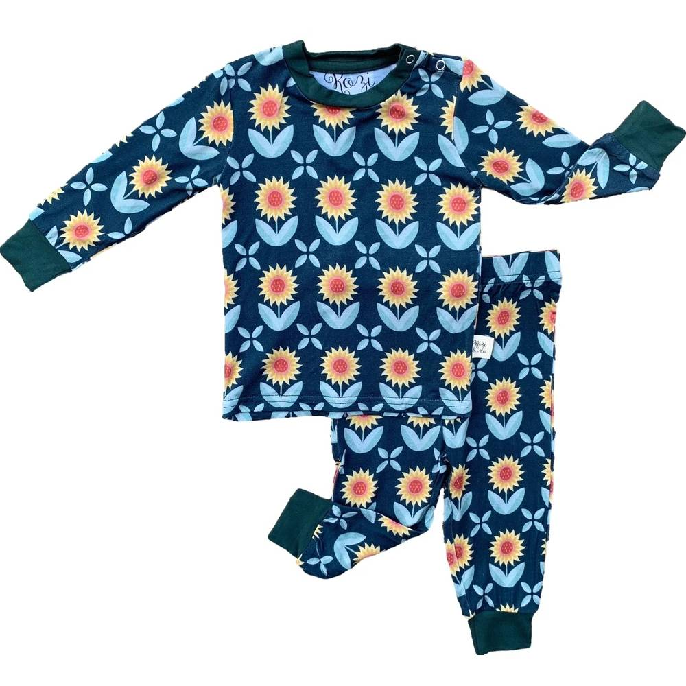 Kozi & Co Pajama Set-Multiple Styles KIDS - Baby - Unisex Baby Clothing KOZI & CO Teskeys