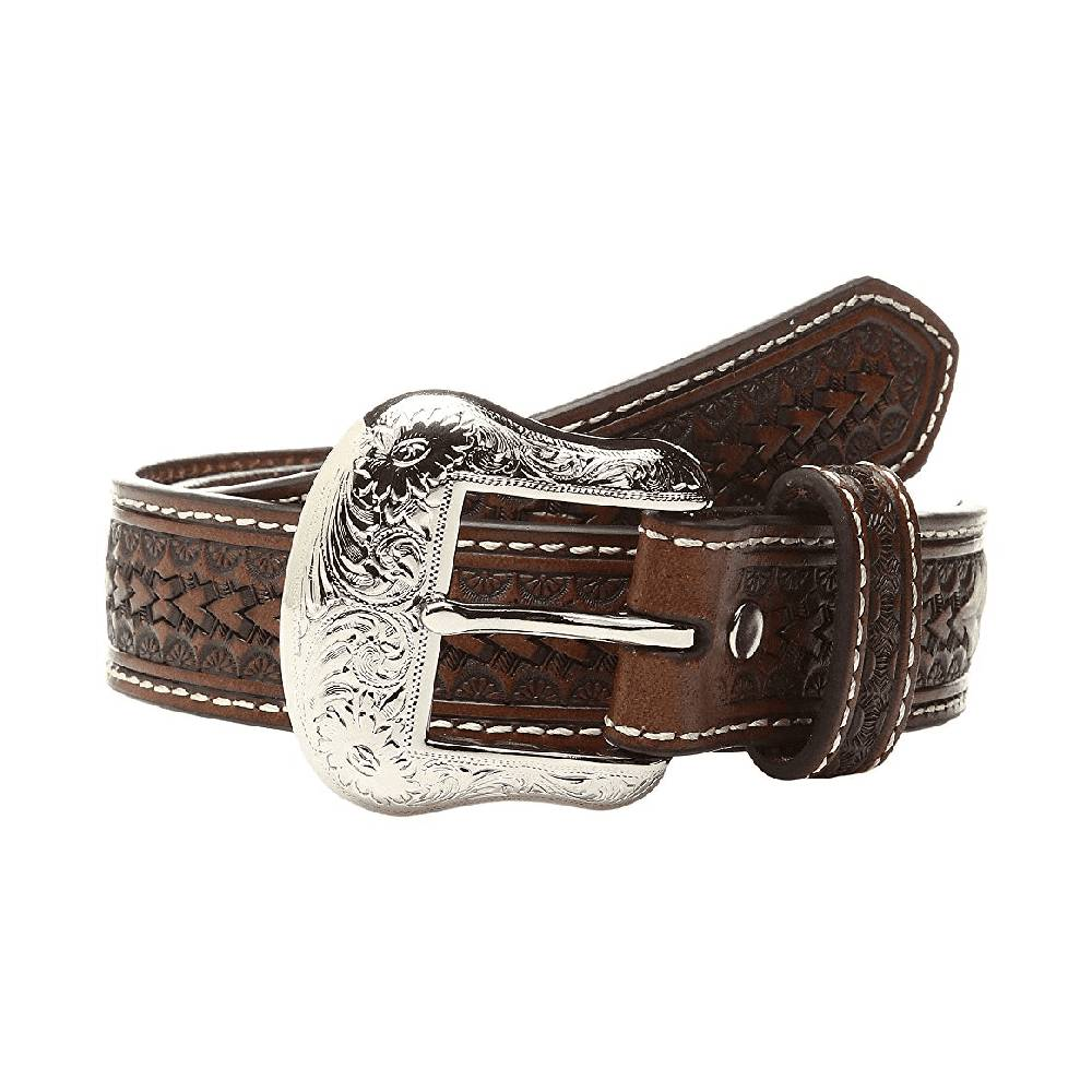 Nocona Rawhide Scalloped Belt KIDS - Accessories - Belts M&F WESTERN PRODUCTS Teskeys