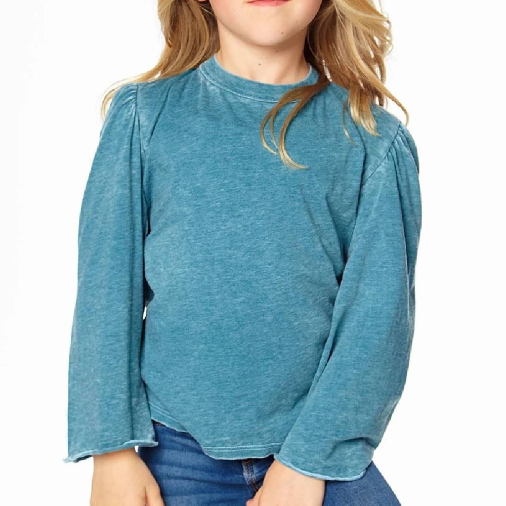 Bell Sleeve Vintage Tee-Multiple Colors KIDS - Girls - Clothing - Tops - Long Sleeve Tops CHASER Teskeys