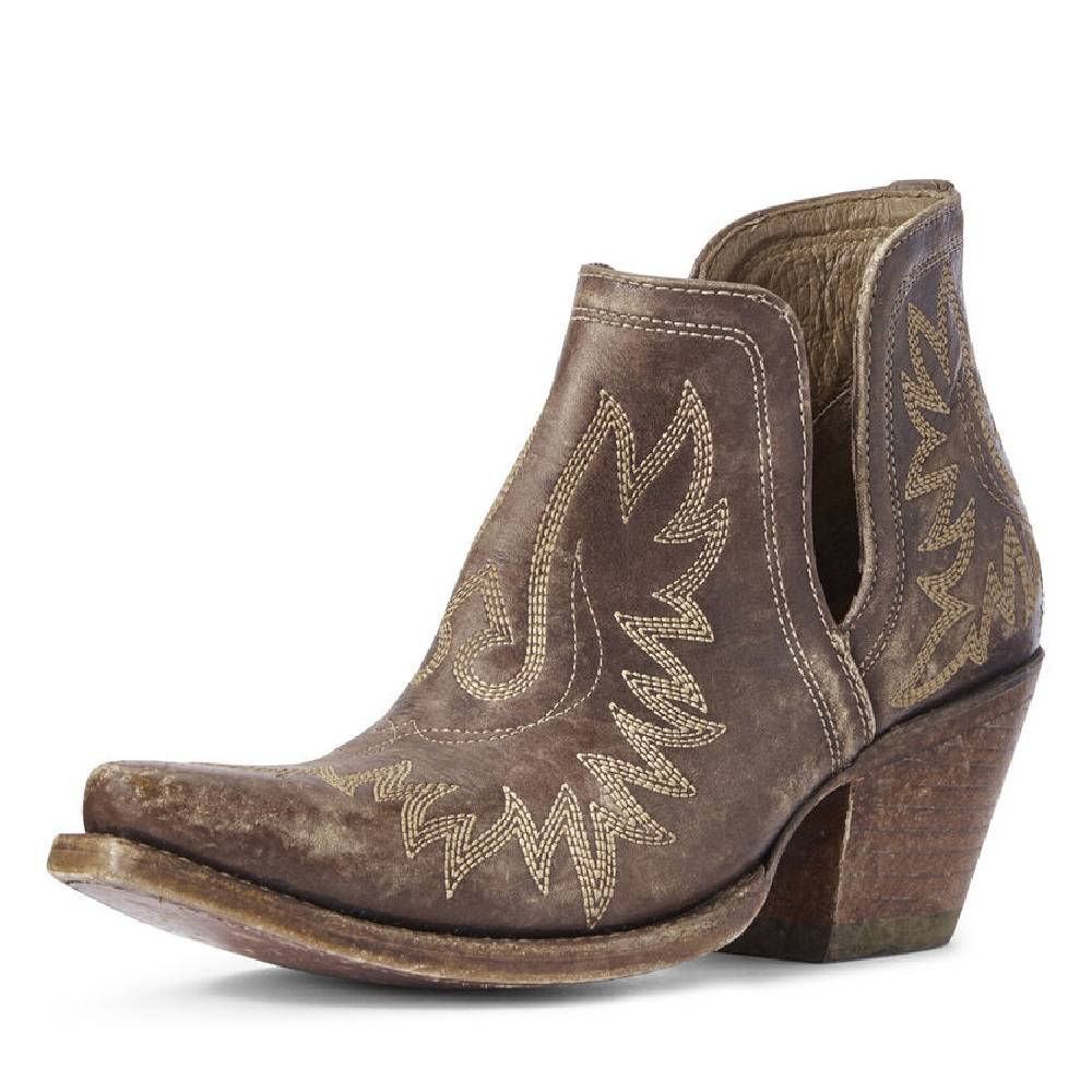Ariat Dixon Distressed Bootie WOMEN - Footwear - Boots - Booties Ariat Footwear Teskeys