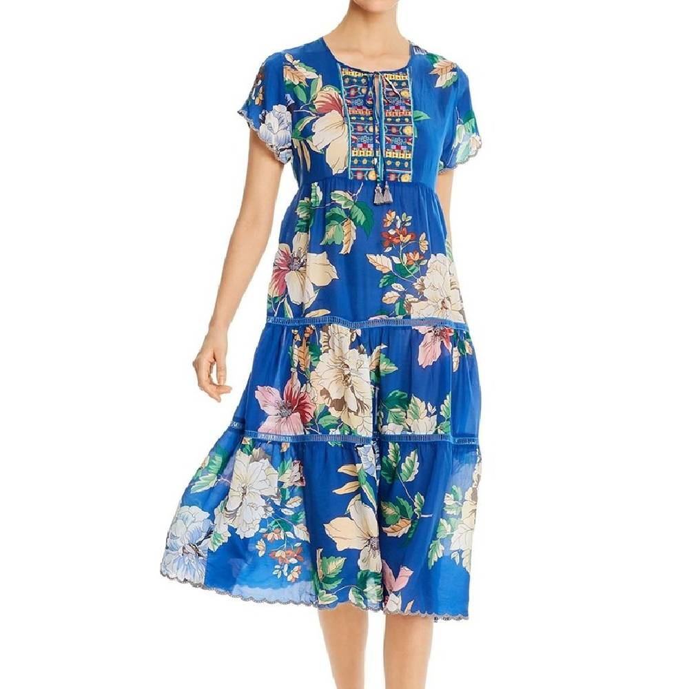 Johnny Was Holly Dress WOMEN - Clothing - Dresses JOHNNY WAS COLLECTION Teskeys