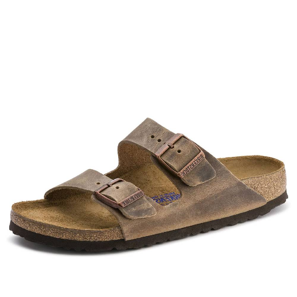 Birkenstock Arizona Soft Footbed Tobacco Brown WOMEN - Footwear - Sandals BIRKENSTOCK Teskeys