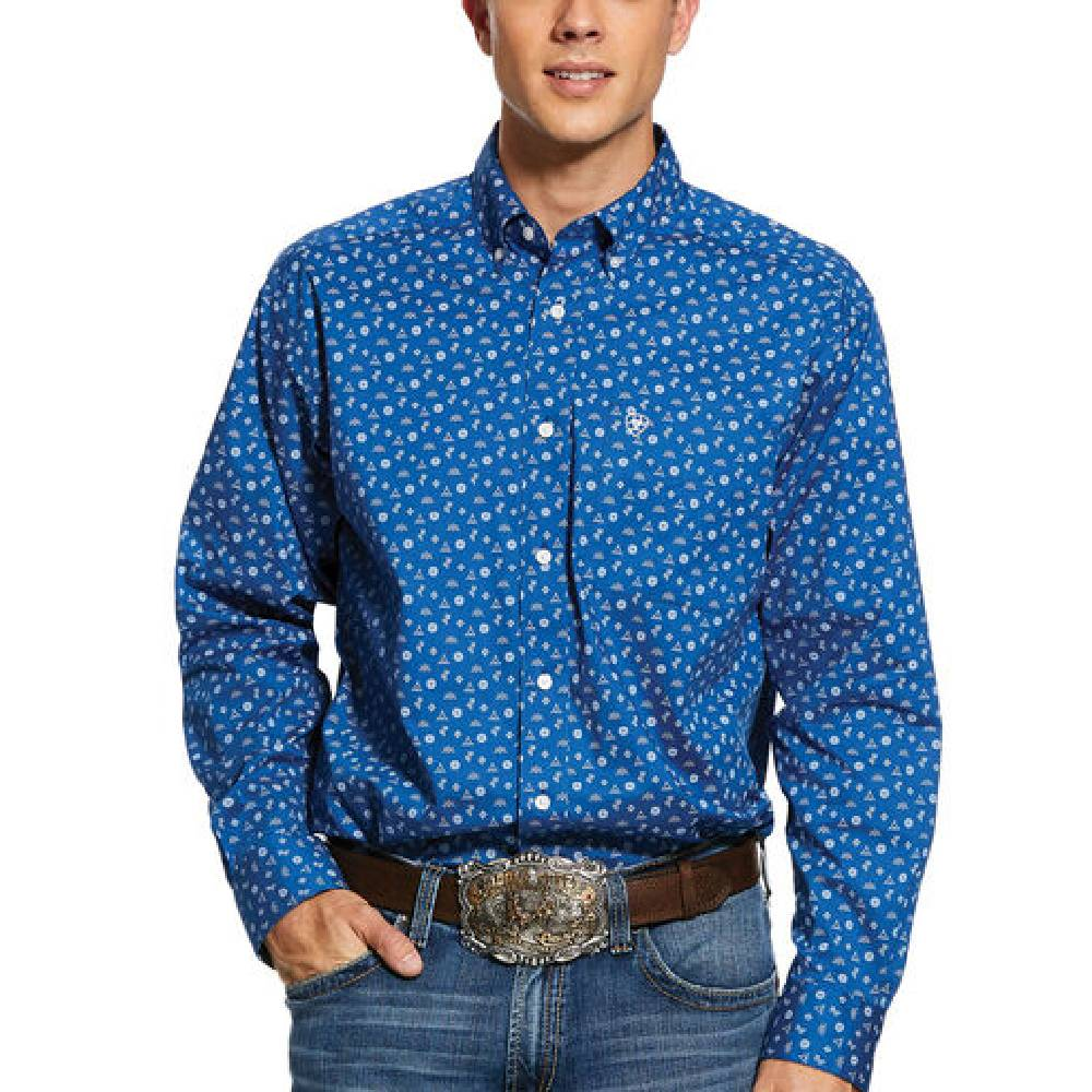 Ariat Gates Button Down Shirt MEN - Clothing - Shirts - Long Sleeve Shirts Ariat Clothing Teskeys