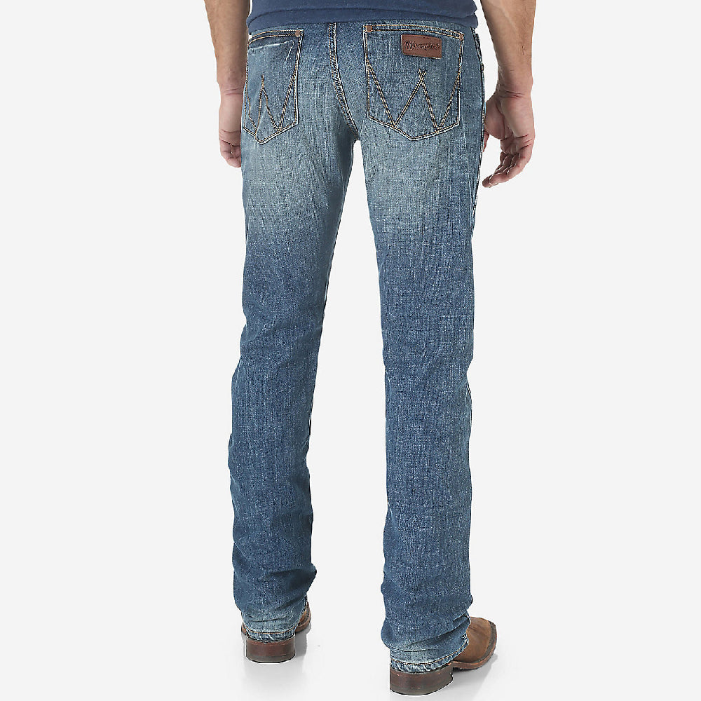 Wrangler Retro Slim Straight Leg Bozeman MEN - Clothing - Jeans WRANGLER Teskeys