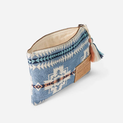 Pendleton Chief Joseph Zip Pouch WOMEN - Accessories - Handbags - Clutches & Pouches PENDLETON Teskeys