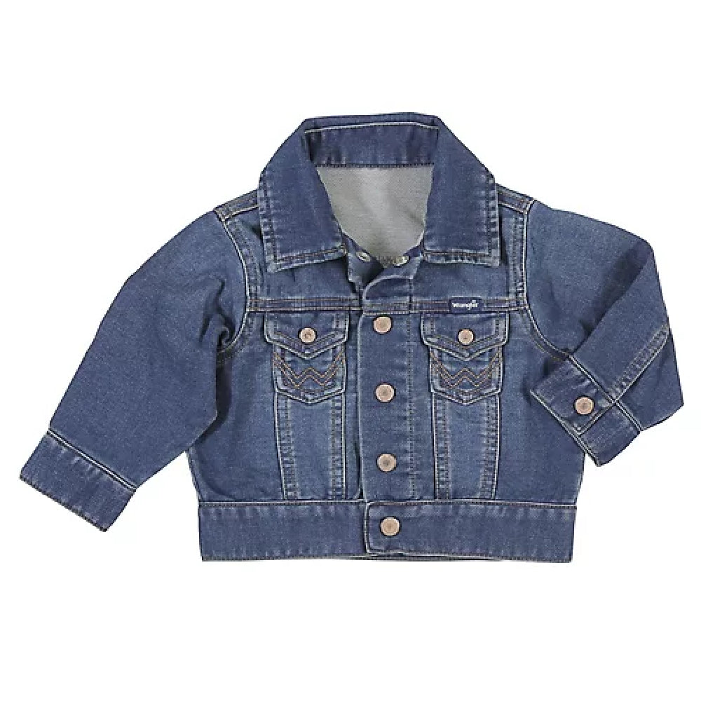 Baby Long Sleeve Classic Denim Jacket KIDS - Boys - Clothing - Outerwear - Jackets WRANGLER Teskeys