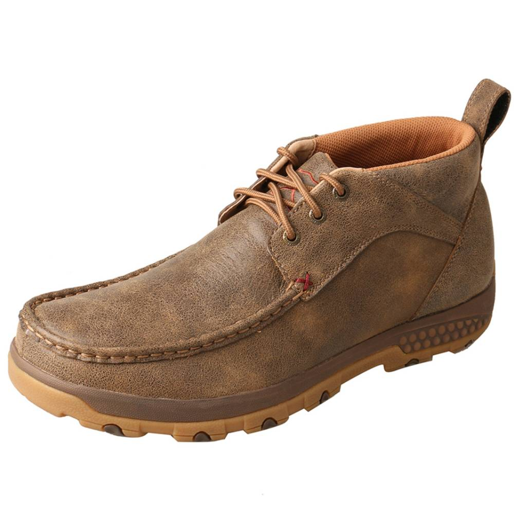 Twisted X Cellstretch Chukka Driving Moc MEN - Footwear - Casual Shoes TWISTED X Teskeys