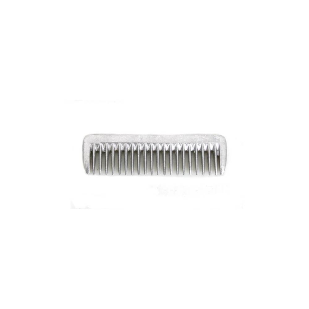 "Small Aluminum Mane Comb 3 1/2"" FARM & RANCH - Animal Care - Equine - Grooming - Brushes & combs Teskeys Teskeys"