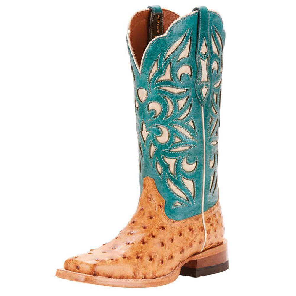 Ariat Carmencita Full Quill Boot WOMEN - Footwear - Boots - Exotic Boots Ariat Footwear Teskeys