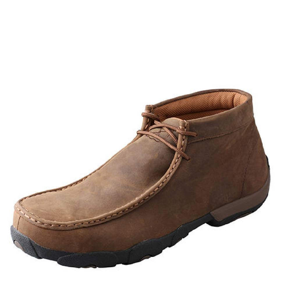Twisted X Work Steel Toe Chukka Driving Moc MEN - Footwear - Work Boots TWISTED X Teskeys