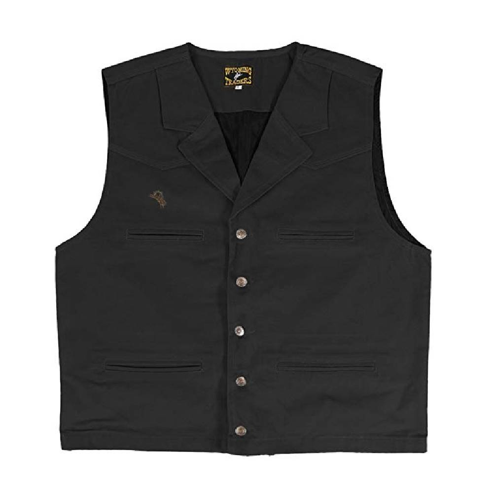 Wyoming Traders Youth Bronco Canvas Vest