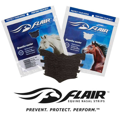 Flair Equine Nasal Strips FARM & RANCH - Animal Care - Equine - Medical Flair Teskeys