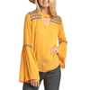 Rock & Roll Bell Sleeve Top WOMEN - Clothing - Tops - Long Sleeved Panhandle Teskeys