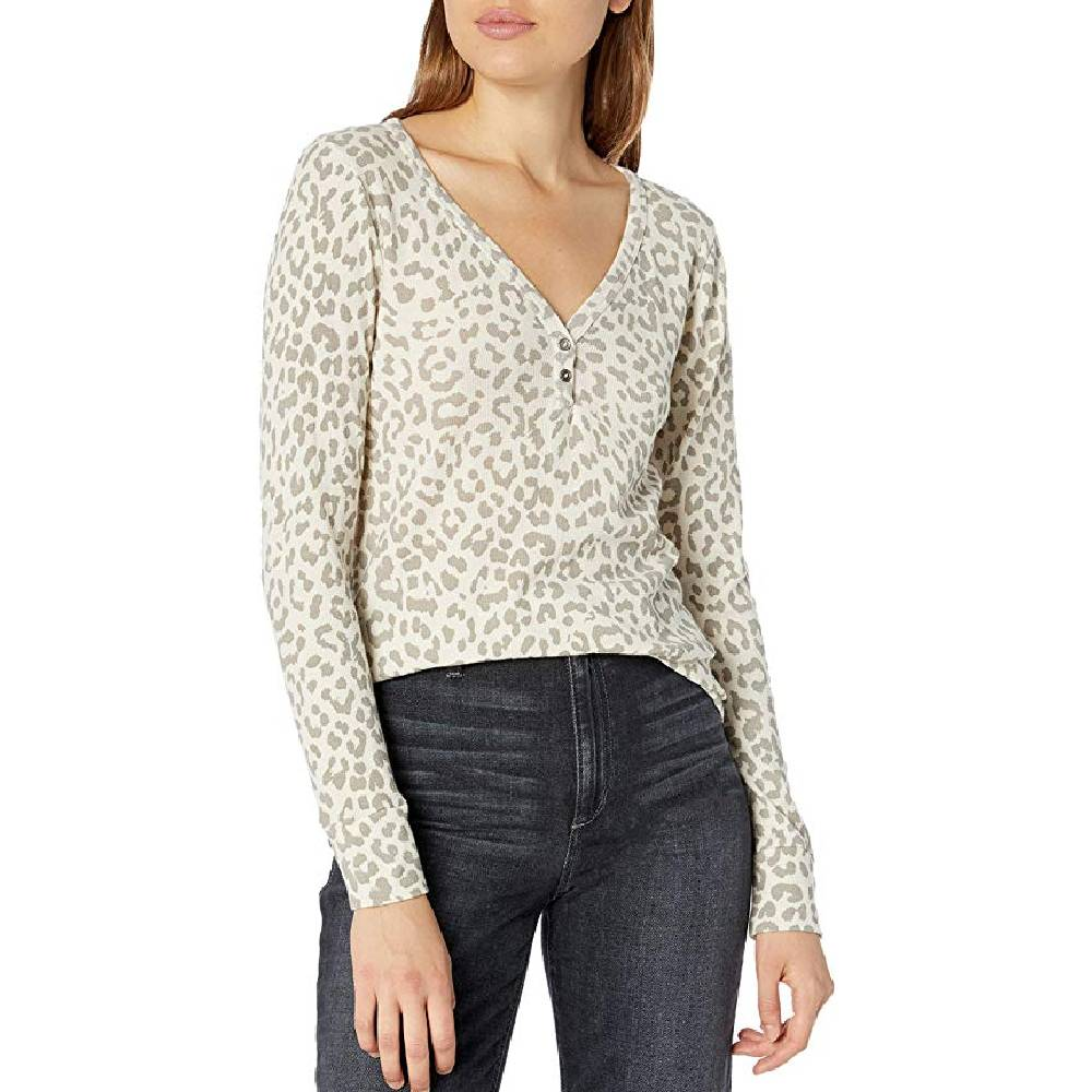 Lucky Brand Leopard Print Thermal