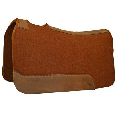"5 Star 1"" Cinnamon Wool Pad Tack - Saddle Pads 5 Star Teskeys"